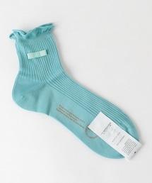 <ANTIPAST>蝴蝶結羅紋短襪