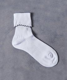 <ANTIPAST> PICOT 羅紋襪