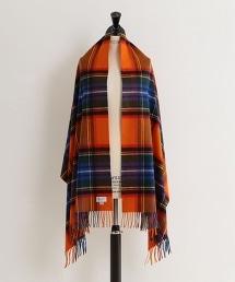 特別訂製<JOHNSTONS>喀什米爾羊毛格紋 圍巾190×70†