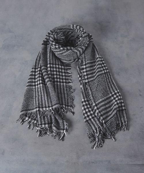 <Faliero Sarti>葛倫格紋 披肩圍巾