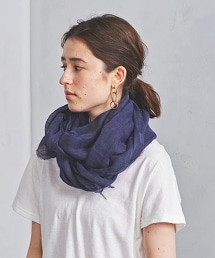 <MARIANI>亞麻圍巾