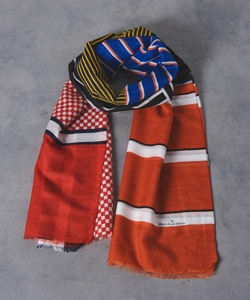 <Pierre-Louis Mascia> HAWN-S 圍巾
