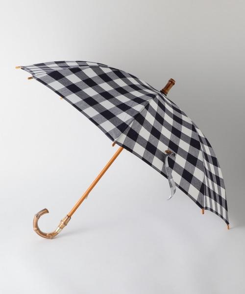 UBBT 格紋短款晴雨傘