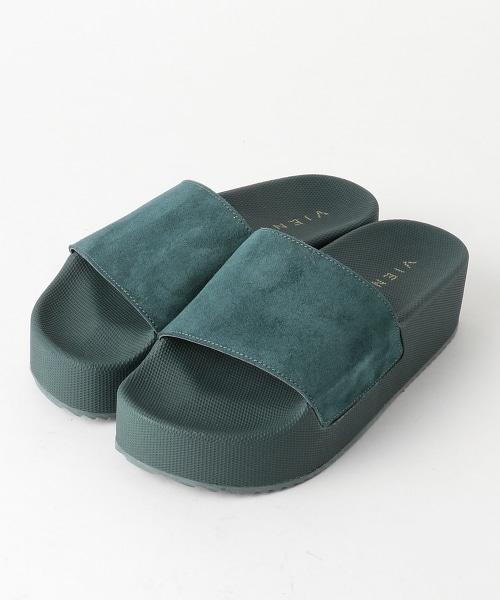 <VIENTY>皮革 霧面鞋身 涼鞋