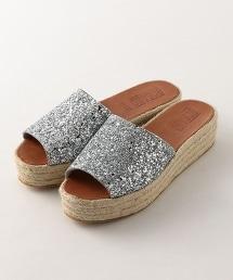 <BOSABO>厚底 亮面涼鞋