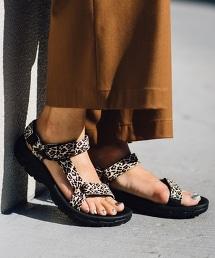 【特別訂製版】<TEVA>∵ HURRICANE 涼鞋/豹紋