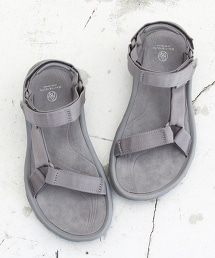 【特別訂製版】<TEVA>∵ HURRICANE 涼鞋/灰色