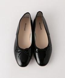 <MERITXELL>漆皮芭蕾舞鞋