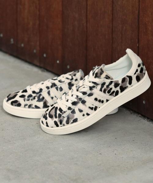 【特別訂製】<adidas Originals>∴CAMPUS 豹紋印花休閒鞋
