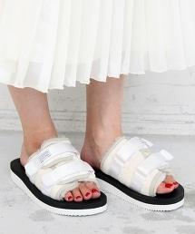 【特別訂製】<SUICOKE>∴羊皮涼鞋