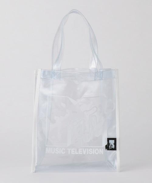 【特別訂製】<MTV>透明托特包