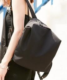 BY∴ 金屬皮帶扣後背/側背包