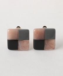 BY 方型耳環