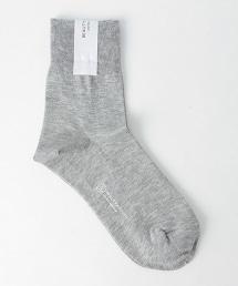 BY 棉質單色短襪 16FW