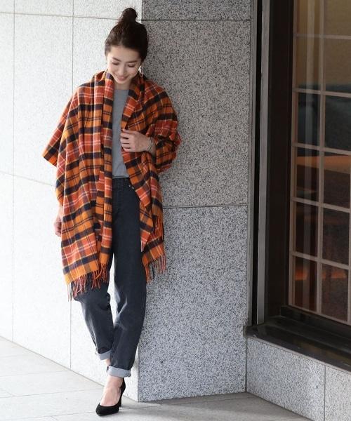 【特別訂製】<Johnstons>∴蘇格蘭格紋圍巾