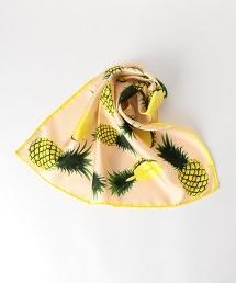 <manipuri>鳳梨印花絲質方巾