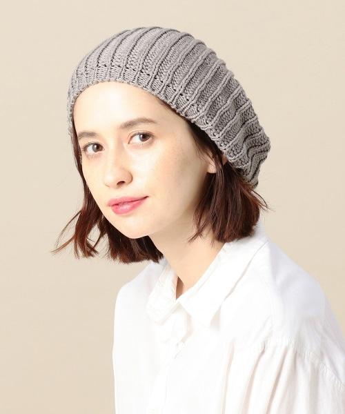 <HIGHLAND 2000>棉質編織貝雷帽