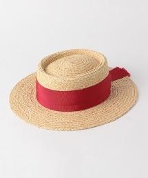 BY 拉菲草緞帶康康帽