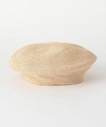 BY 紙纖維 貝雷帽