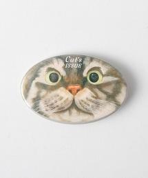 <Cat's ISSUE>扣針胸章/NETTAI Ψ