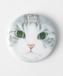 <Cat's ISSUE>扣針胸章/SAVAMI Ψ