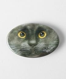 <Cat's ISSUE>扣針胸章/OHAGI  Ψ