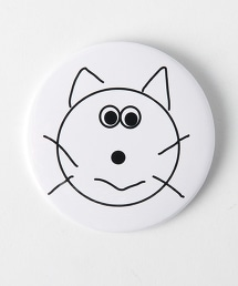 <Cat's ISSUE>扣針胸章/Masanao Hirayama Ψ
