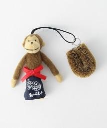龜之子束子×UA 圍裙猴掛飾