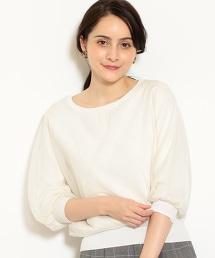 [可手洗] FM 薄紗雙層針織套衫