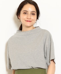 NFC 天竺棉起毛 瓶口領 T恤