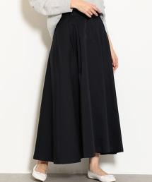 NFC 打褶斜紋布荷葉裙