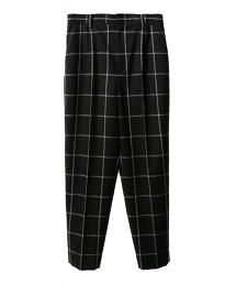 ASTRAET 窗格紋錐形褲