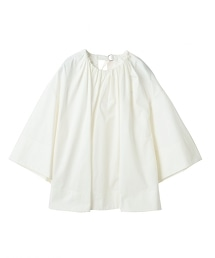 ASTRAET 棉質褶皺上衣