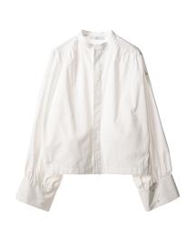 ASTRAET OX 皺褶 蓬鬆袖 襯衫