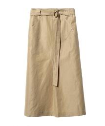 ASTRAET 腰帶A字型荷葉裙