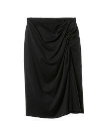 ASTRAET 不規則皺褶及膝裙