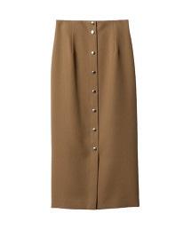 ASTRAET 壓釦 長窄裙