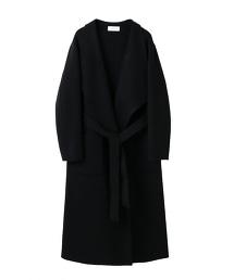ASTRAET 雙面織物交叉長版外套