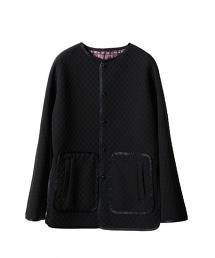 ASTREAT 絎縫無領外套