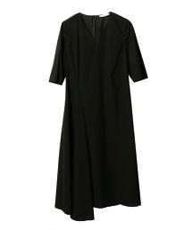 ASTRAET 荷葉袖連身洋裝