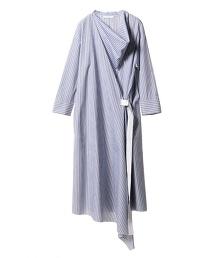 ASTRAET 條紋交叉洋裝