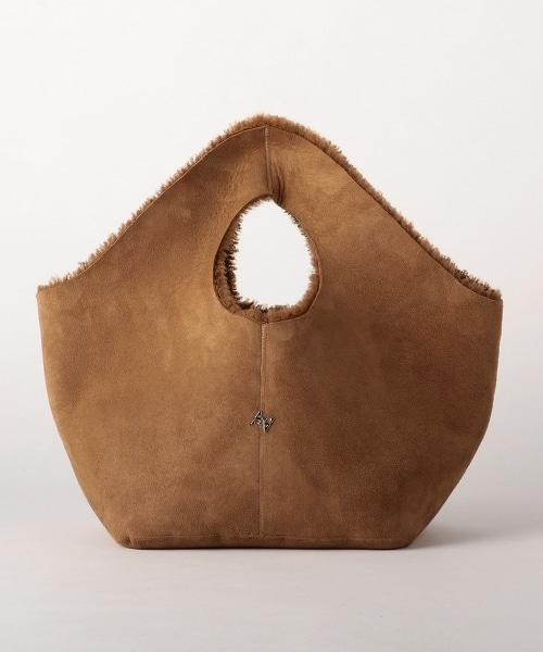ASTRAETMOUTON TOTE BAG 正反兩用羊皮托特包