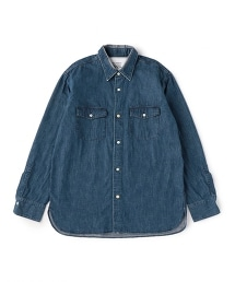 UNITED ARROWS & SONS DAMAGED WORK SHIRT 工作襯衫