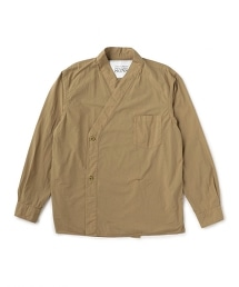 UNITED ARROWS & SONS DOUBLE BREASTED SHIRT 排釦和風罩衫