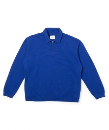 UNITED ARROWS & SONS SWEAT ZIP P/O OVR/D 半拉鏈衛衣外套