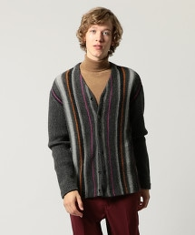 UNITED ARROWS & SONS ALEX STRIPE CARDIGAN