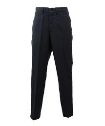 <Hombre Nino × UNITED ARROWS & SONS>W/PANE SIDE TP PANTS 聯名別注款兩側飾帶窗型格紋褲裝