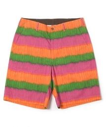 UNITED ARROWS & SONS IKAT SHORTS 伊卡(IKAT)橫條紋短褲