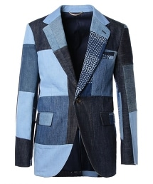 UNITED ARROWS & SONS PATCHWORK P-JACKET