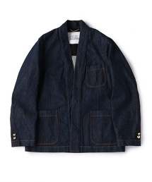 UNITED ARROWS & SONS DENIM TOMMY BLAZER 丹寧休閒西裝外套